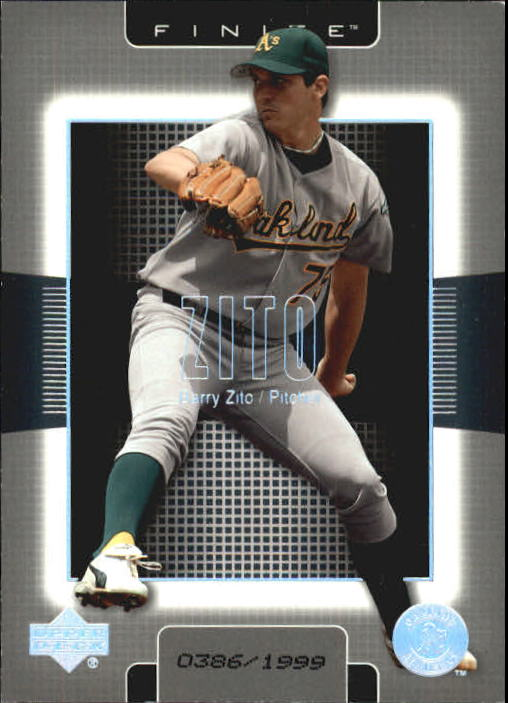 2003 Upper Deck Finite #74 Barry Zito