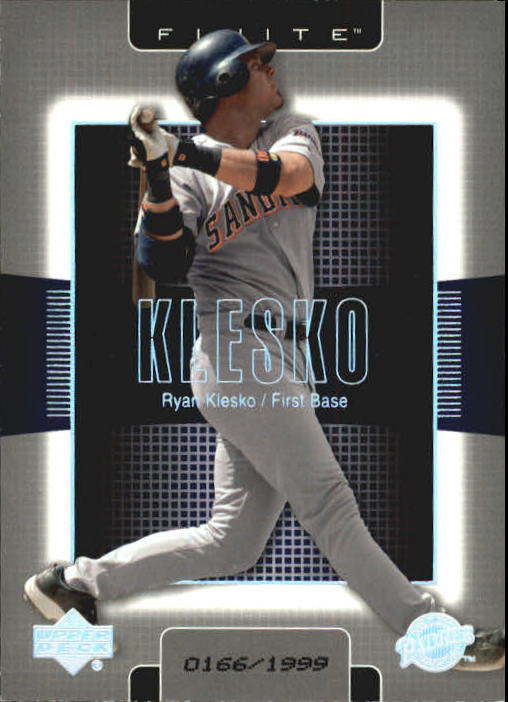 2003 Upper Deck Finite #80 Ryan Klesko