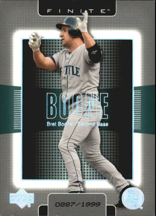 2003 Upper Deck Finite #86 Bret Boone