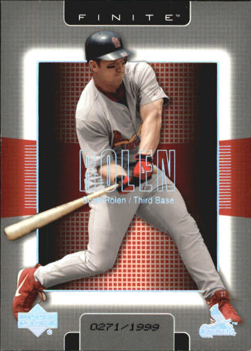 2003 Upper Deck Finite #90 Scott Rolen