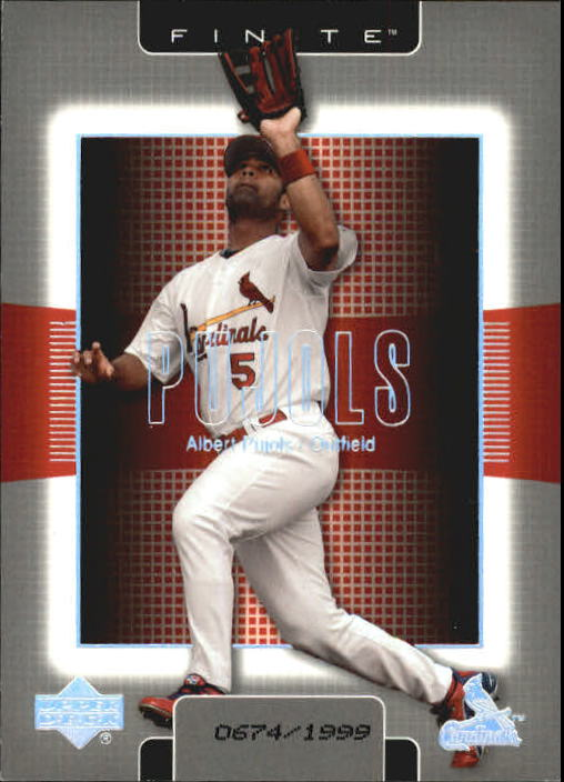 2003 Upper Deck Finite #93 Albert Pujols