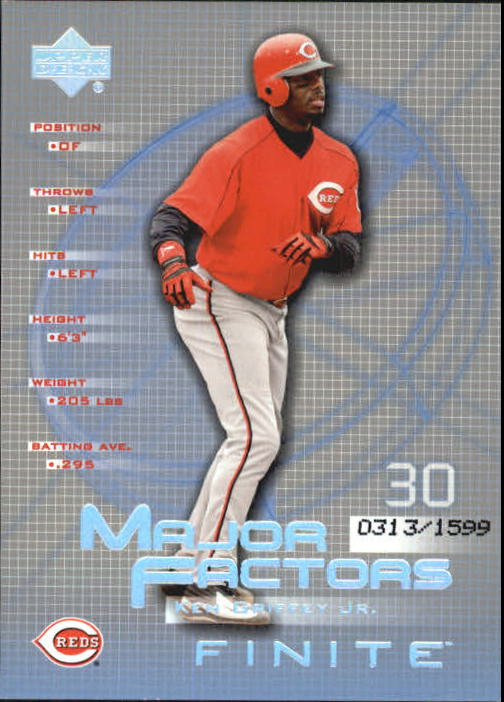 2003 Upper Deck Finite #127 Ken Griffey Jr. MF