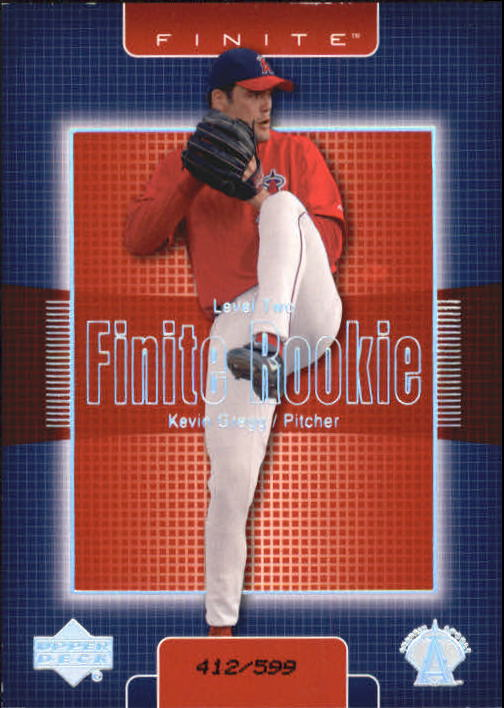 2003 Upper Deck Finite #303 Kevin Gregg T2
