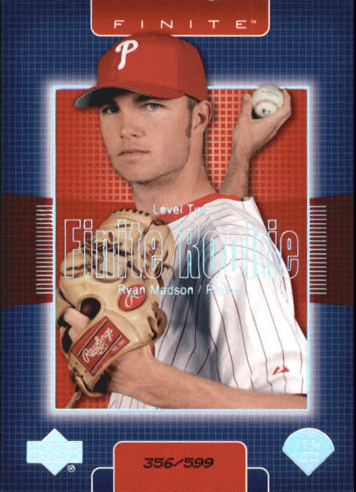 2003 Upper Deck Finite #320 Ryan Madson T2