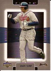 2003 Upper Deck Finite Gold #8 Andruw Jones