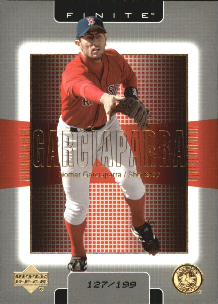 2003 Upper Deck Finite Gold #17 Nomar Garciaparra