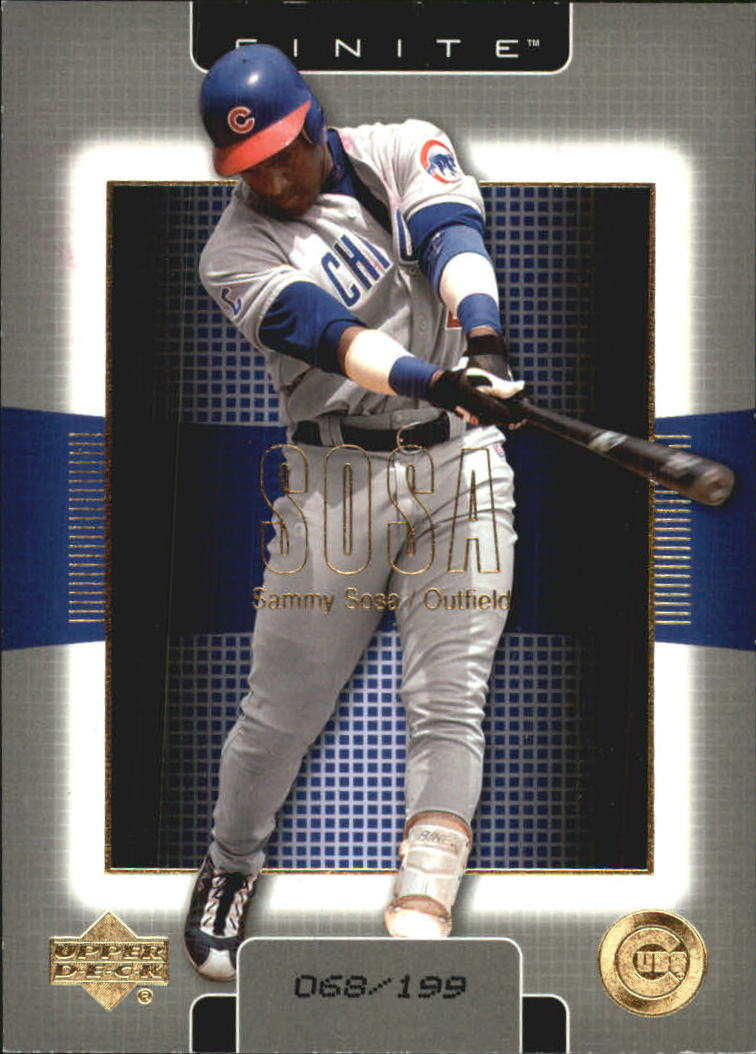 2003 Upper Deck Finite Gold #23 Sammy Sosa