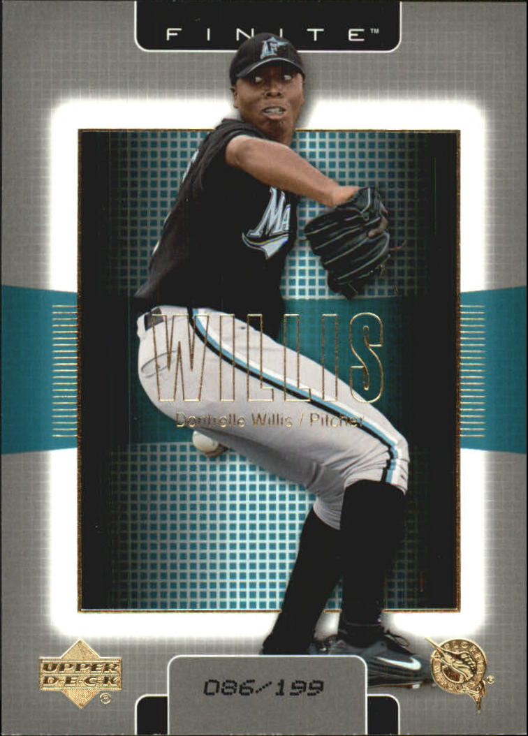 2003 Upper Deck Finite Gold #45 Dontrelle Willis