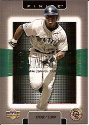2003 Upper Deck Finite Gold #84 Mike Cameron