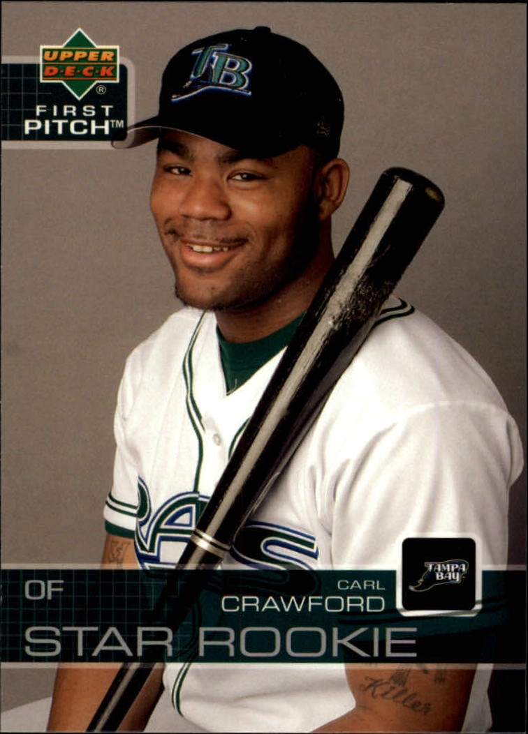 2003 Upper Deck First Pitch #30 Carl Crawford SR