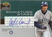 2003 Upper Deck First Pitch Signature Stars #IS Ichiro Suzuki/50