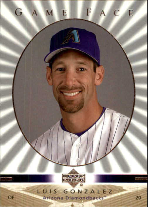 2003 Upper Deck Game Face #6 Luis Gonzalez