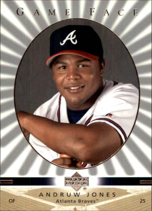 2003 Upper Deck Game Face #10 Andruw Jones