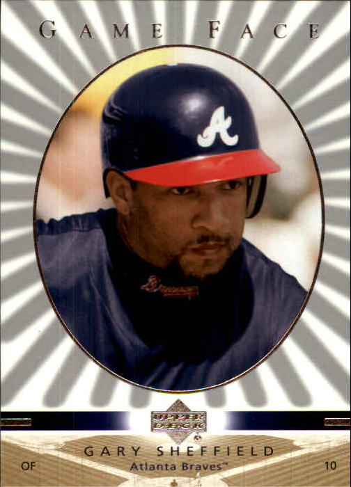 2003 Upper Deck Game Face #11 Gary Sheffield
