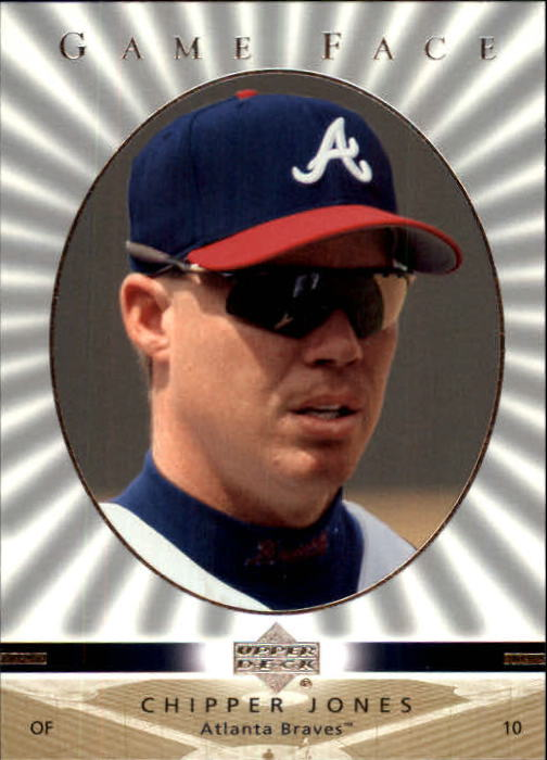 2003 Upper Deck Game Face #14 Chipper Jones SP