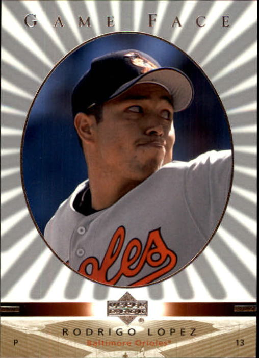 2003 Upper Deck Game Face #16 Rodrigo Lopez