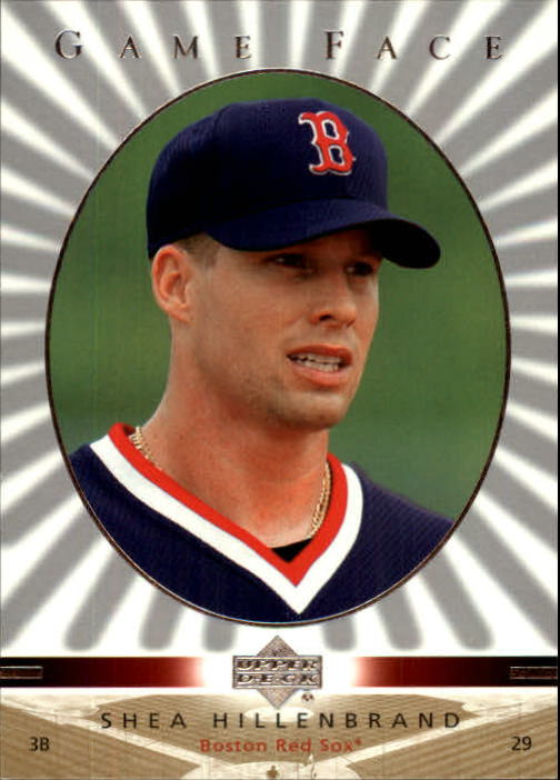 2003 Upper Deck Game Face #18 Shea Hillenbrand