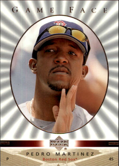 2003 Upper Deck Game Face #22 Pedro Martinez SP