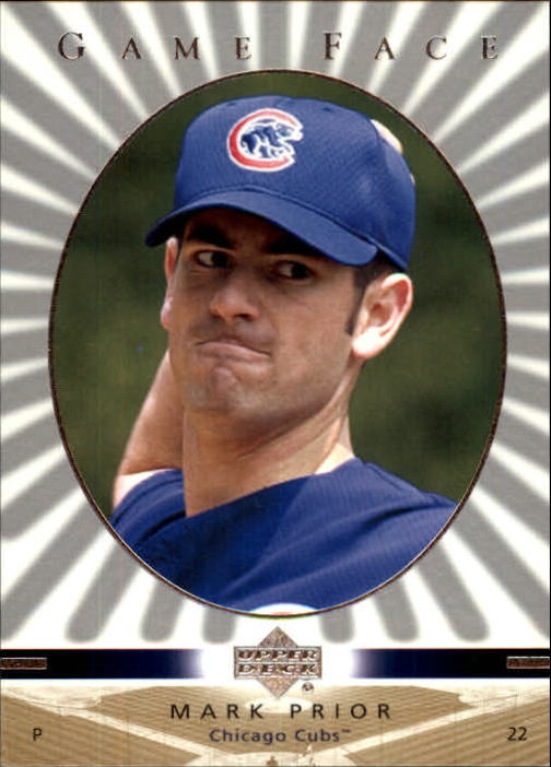 2003 Upper Deck Game Face #24 Mark Prior