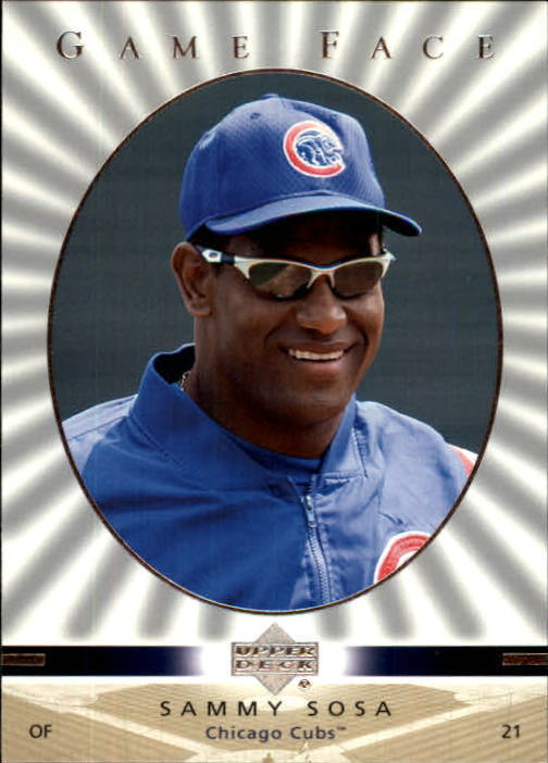 2003 Upper Deck Game Face #27 Sammy Sosa SP