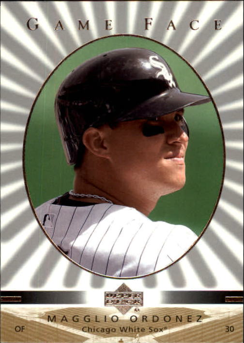 2003 Upper Deck Game Face #28 Magglio Ordonez