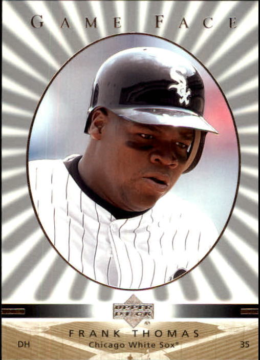 2003 Upper Deck Game Face #29 Frank Thomas