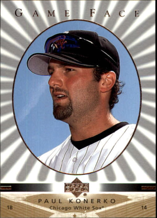 2003 Upper Deck Game Face #30 Paul Konerko