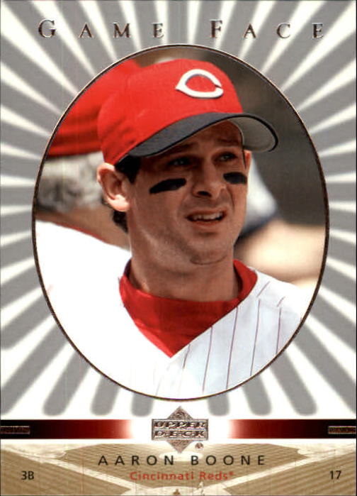 2003 Upper Deck Game Face #33 Aaron Boone