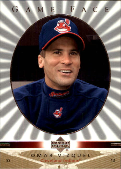2003 Upper Deck Game Face #35 Omar Vizquel