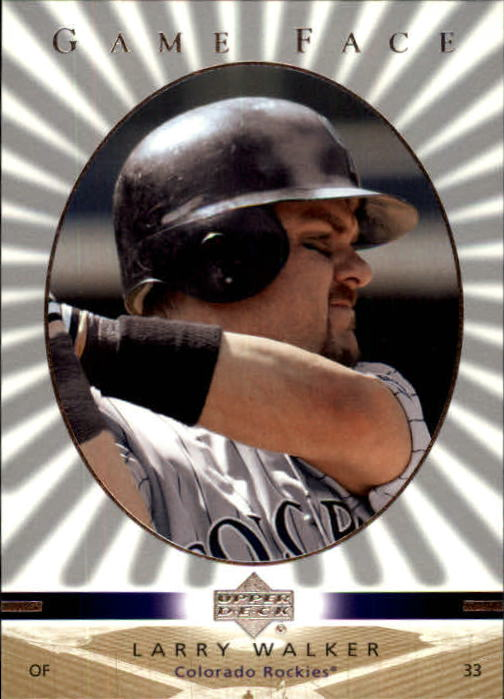 2003 Upper Deck Game Face #38 Larry Walker