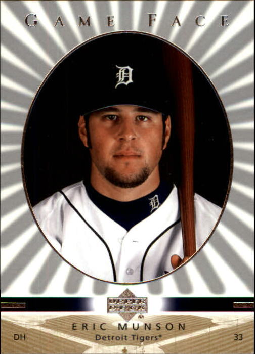 2003 Upper Deck Game Face #43 Eric Munson