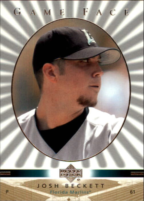 2003 Upper Deck Game Face #45 Josh Beckett