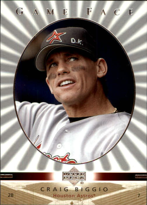 2003 Upper Deck Game Face #48 Craig Biggio
