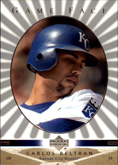 2003 Upper Deck Game Face #52 Carlos Beltran