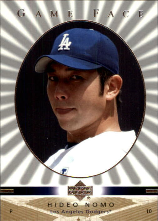 2003 Upper Deck Game Face #53 Hideo Nomo