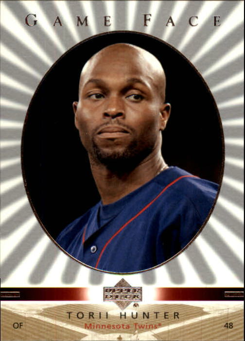 2003 Upper Deck Game Face #60 Torii Hunter
