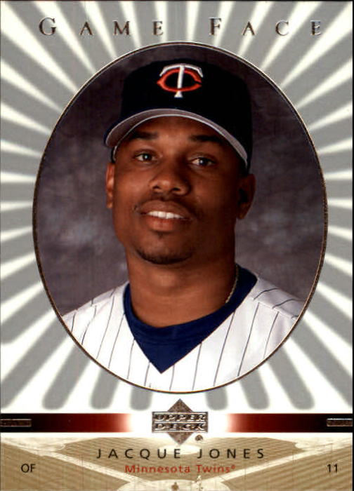 2003 Upper Deck Game Face #61 Jacque Jones