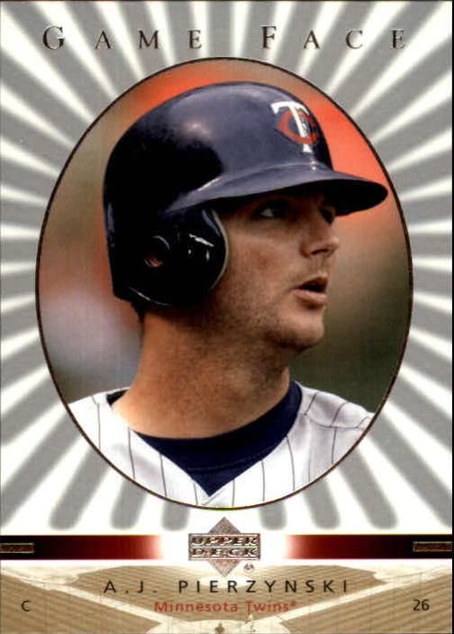 2003 Upper Deck Game Face #64 A.J. Pierzynski