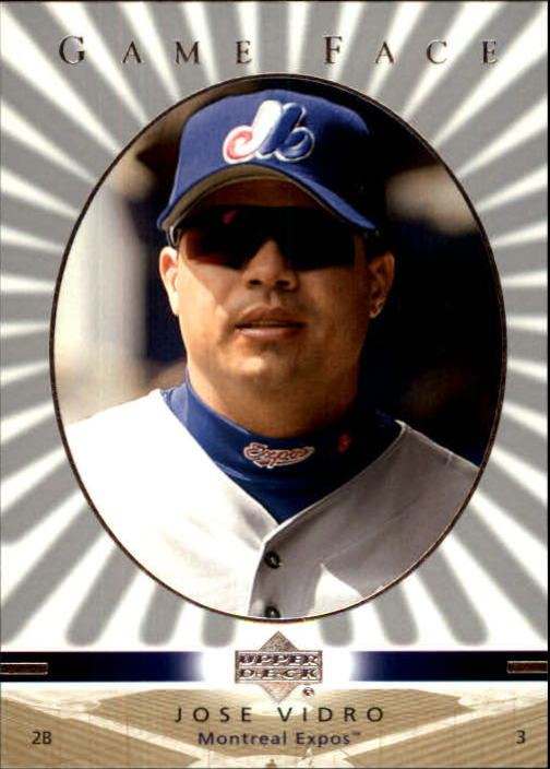 2003 Upper Deck Game Face #65 Jose Vidro