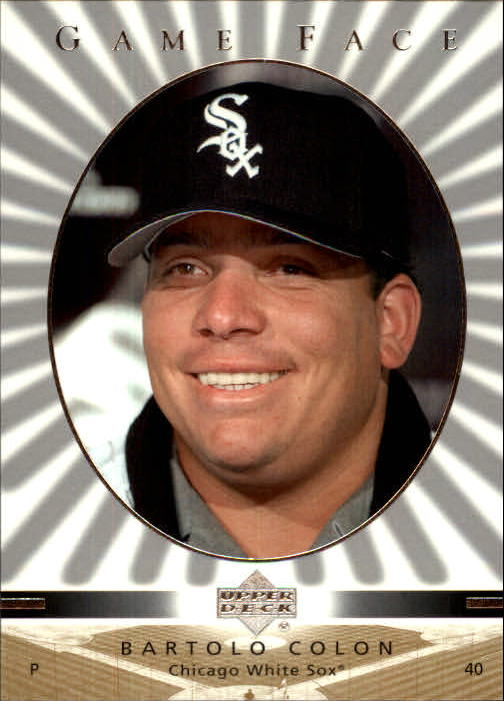 2003 Upper Deck Game Face #66 Bartolo Colon