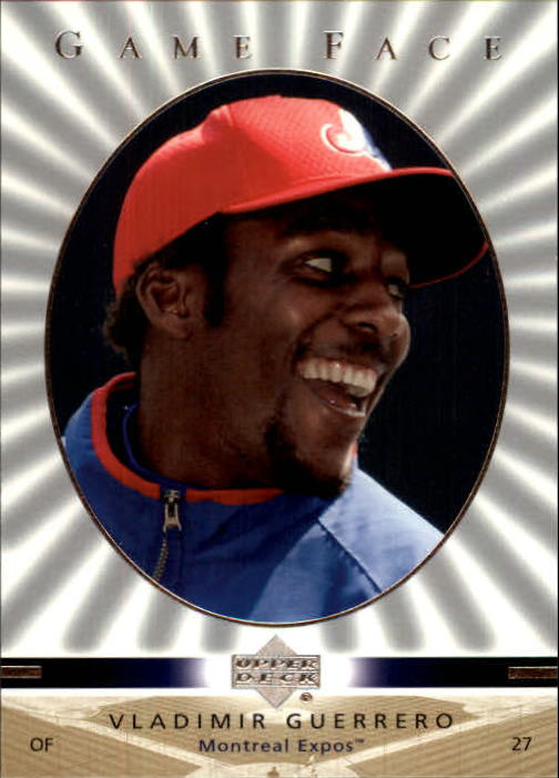 2003 Upper Deck Game Face #67 Vladimir Guerrero SP