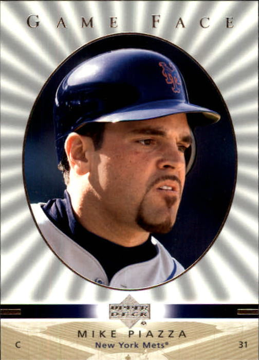2003 Upper Deck Game Face #69 Mike Piazza SP