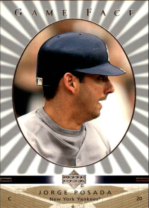 2003 Upper Deck Game Face #71 Jorge Posada