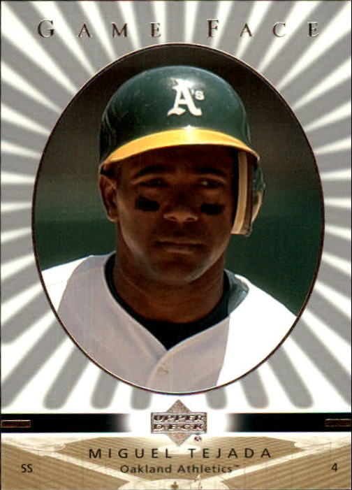 2003 Upper Deck Game Face #80 Miguel Tejada