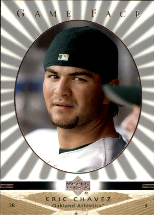 2003 Upper Deck Game Face #81 Eric Chavez