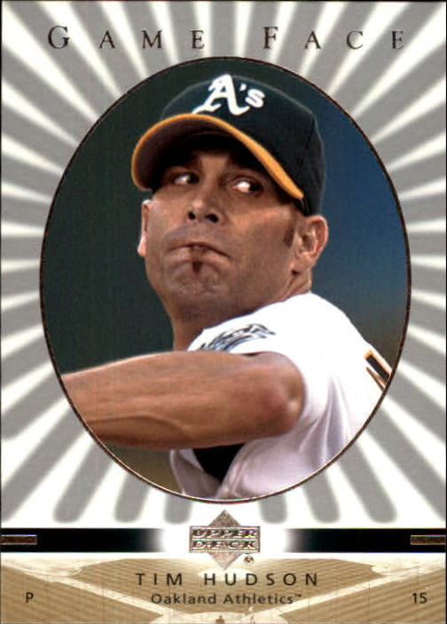 2003 Upper Deck Game Face #82 Tim Hudson