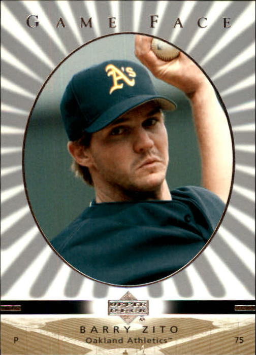 2003 Upper Deck Game Face #83 Barry Zito