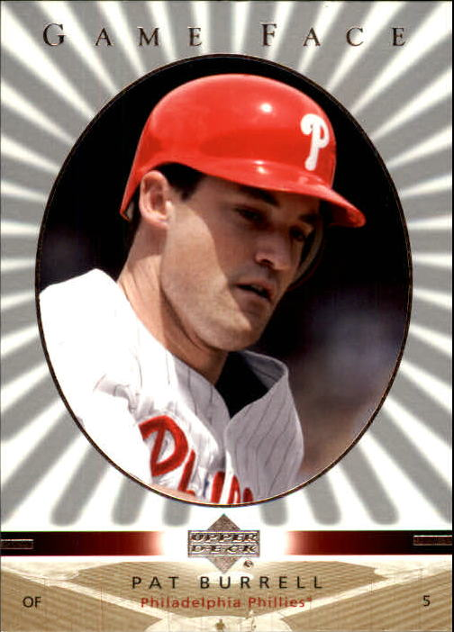2003 Upper Deck Game Face #85 Pat Burrell