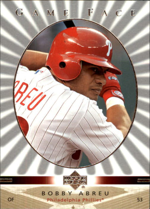 2003 Upper Deck Game Face #87 Bobby Abreu