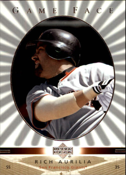 2003 Upper Deck Game Face #95 Rich Aurilia